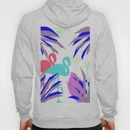 Flamingo Jungle Blues Hoody