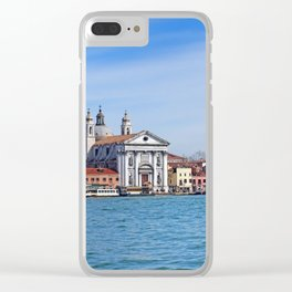 Venice - Salute from the sea Clear iPhone Case