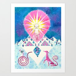 Sun of God Art Print
