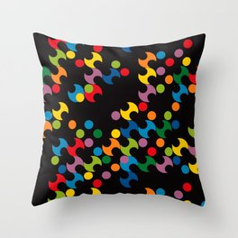 DOTS - polka 2 Throw Pillow