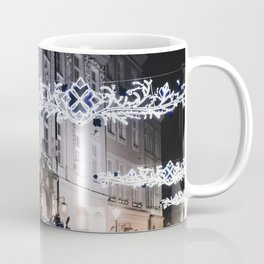 Winter Horse Carriage Ride (Color) Coffee Mug