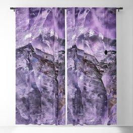Amethyst Crystal Blackout Curtain