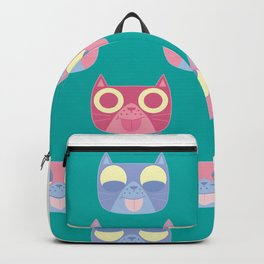 We are watching you. MEOW x 3 Backpack