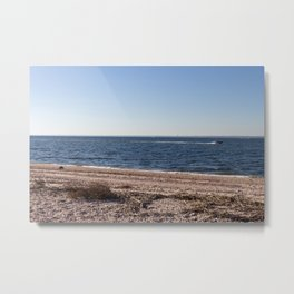 meet me out there Metal Print