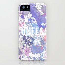 Confess - inverted iPhone Case