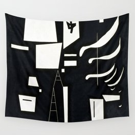 Wassily Kandinsky Soft and Hard Wall Tapestry