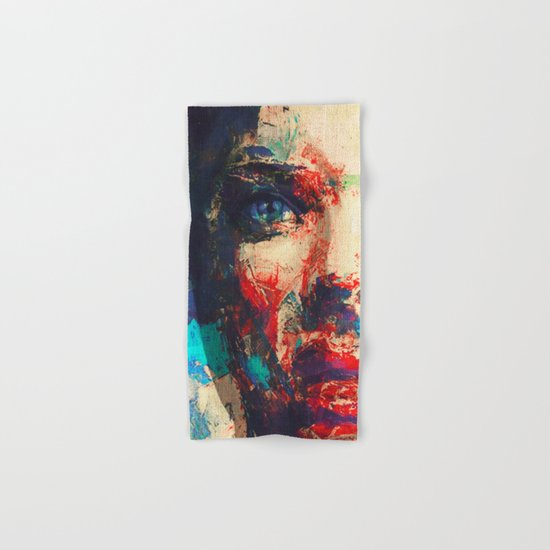 Face in Saturated Color's 3 Hand & Bath Towel