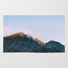 Dawn Mountain - Kenai Fjords National Park II Rug