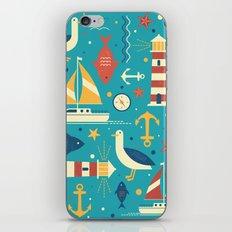 All At Sea iPhone & iPod Skin