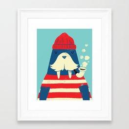 The Walrus Framed Art Print