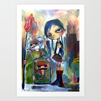 Buy my monkey Art Print