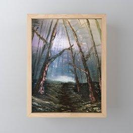 The Dark Forest Framed Mini Art Print