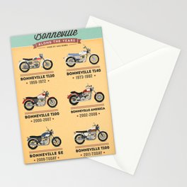 Bonneville Along the Years Stationery Cards