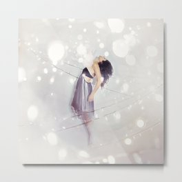 collision - light Metal Print