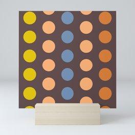 Polka Dot Pattern (1) Mini Art Print