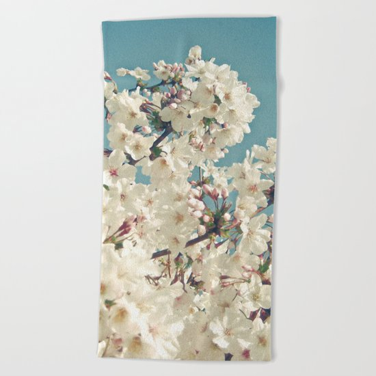Buds in May Beach Towel