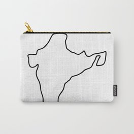 India Indian map Carry-All Pouch