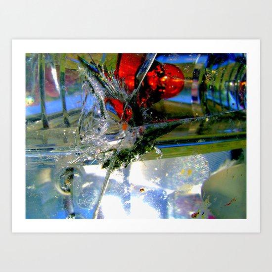 Smashed Art Print