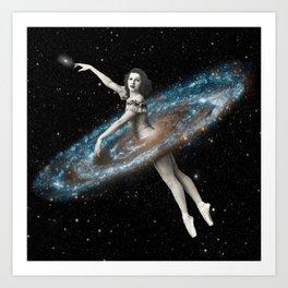 Cosmic Ballerina, Part 3 Art Print