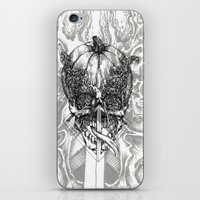 fifth element iPhone & iPod Skins featuring element by hueroth