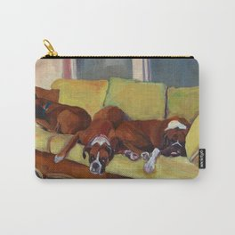 Boxer Dog Siesta Carry-All Pouch