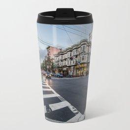 city street crossing Travel Mug