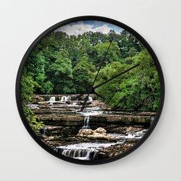 Aysgarth Upper Falls Wall Clock