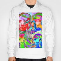 pablo picasso Hoodies featuring Pop Picasso by Ganech joe