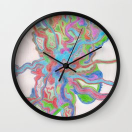 Crazy Art Wall Clock