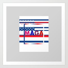 MAGA ANYONE Art Print