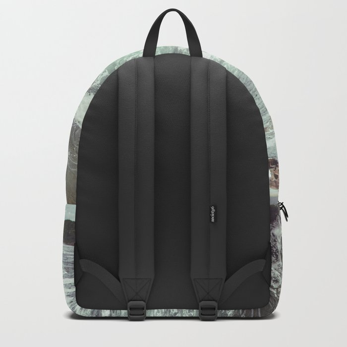 Swirling Sea Backpack
