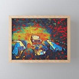 Tech Week Framed Mini Art Print
