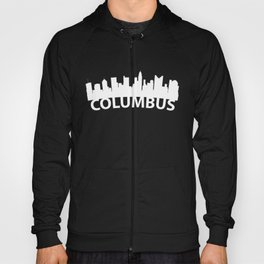 Curved Skyline Of Columbus OH Hoody