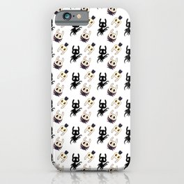Hollow Knight Ending Pattern iPhone Case