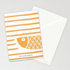 PIXE 2 (light orange) Stationery Cards
