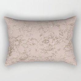 Blush Pink Marble Rectangular Pillow