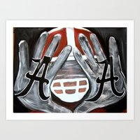 Ingram Hands Art Print