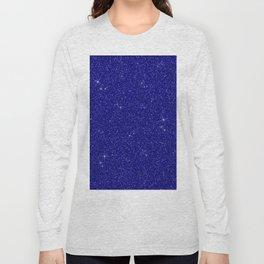 C13D Blue Glitter Long Sleeve T-shirt