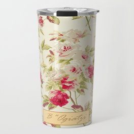 ROMantic FLOral VintAGe Travel Mug