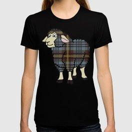 Faded Johnston Tartan Sheep T-shirt