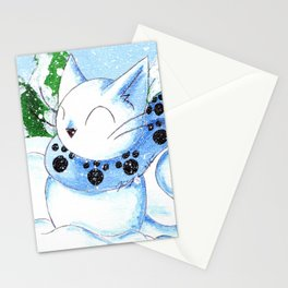 Snowcat Stationery Cards