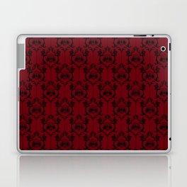 Halloween Damask Red (Old Version) Laptop & iPad Skin
