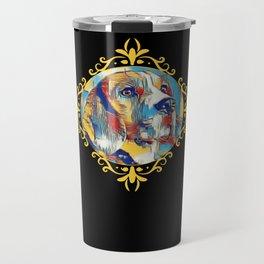 Beagle Vintage Awesome Travel Mug