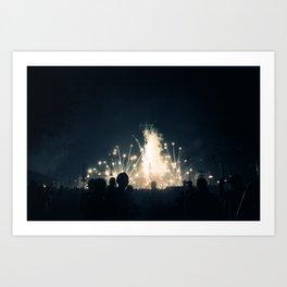 Illuminations Art Print