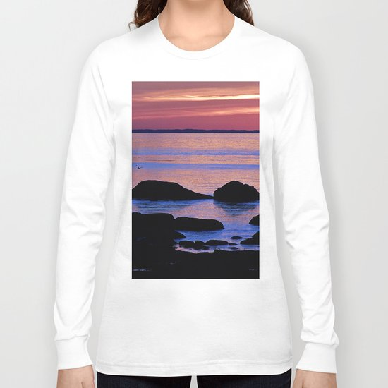 Nature's Evening Kiss Long Sleeve T-shirt