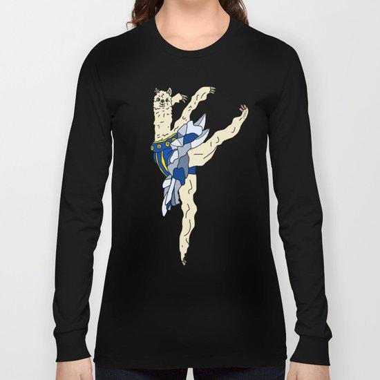 Alpaca Ballerina Tutu Long Sleeve T-shirt