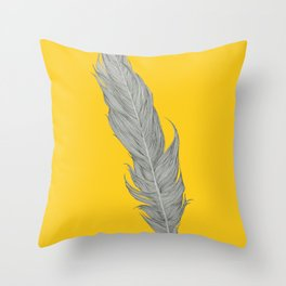 What if I fall? Oh! But what if you fly? Throw Pillow