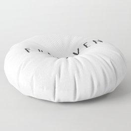 Forgiven Floor Pillow