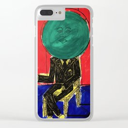 Jane/Susan - Pop Art Surrealism Illustration Clear iPhone Case
