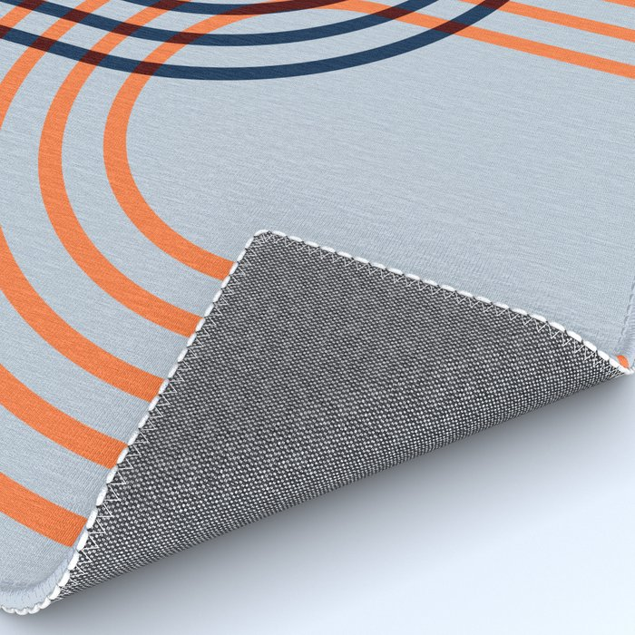Counterbalance - orange blue Rug